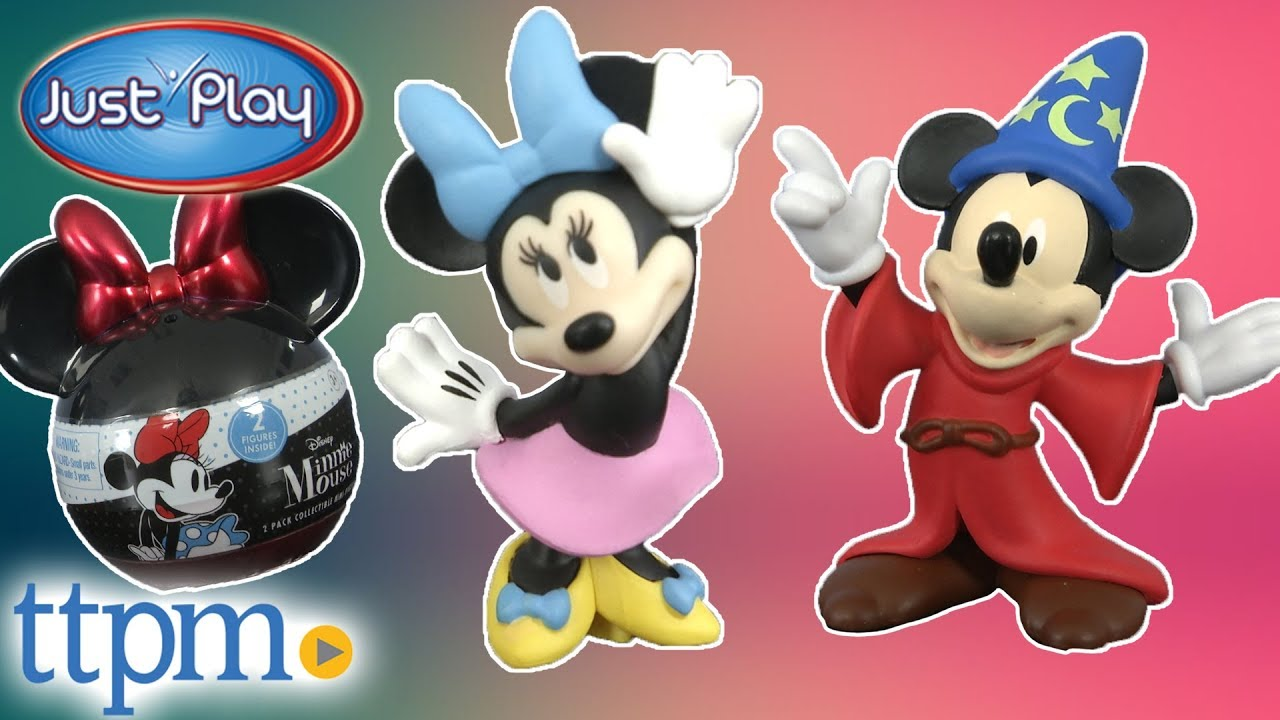 Mickey Mouse Mini Collectable Figures 2 pack Surprise Rare Figures Inside New