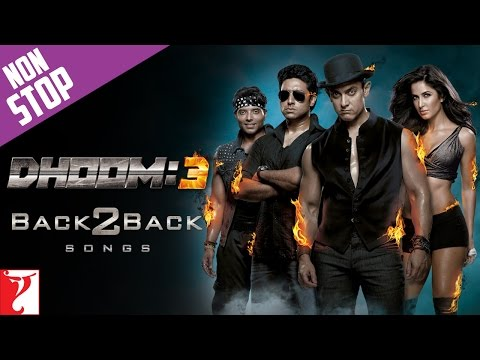 #Back2Back Songs : Dhoom:3 - Aamir Khan | Katrina Kaif