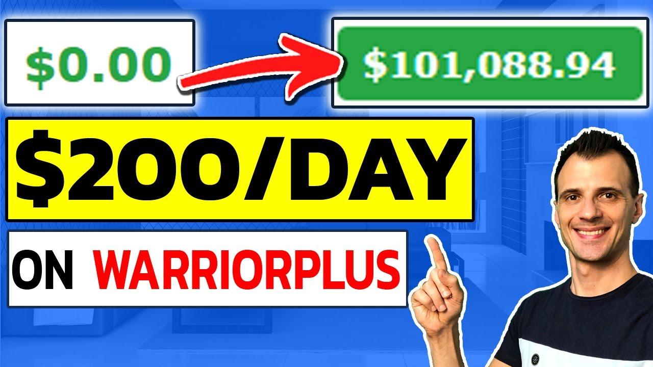 How to Make Money With WarriorPlus: Affiliate Marketing Tutorial