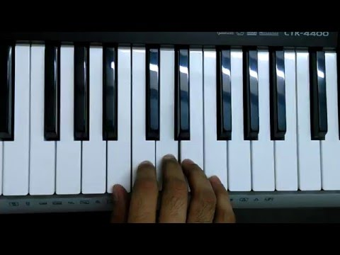 Yahan Pe Sab Shanti Hai on Keyboard/Piano Instrumental