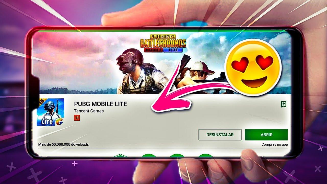 Pubg Lite How To Download Pubg Mobile Lite In India: Saiu!! PUBG Mobile Lite Na Playstore Para Celulares Fracos