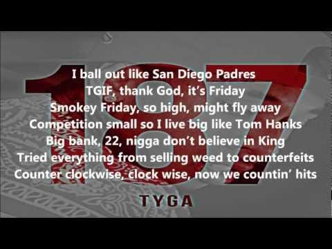 Tyga  Clique  Fuckin Problem LYRICS 187