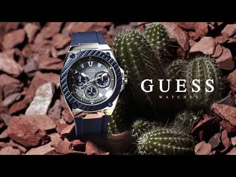 GUESS Watches Colombia - ACTIVE LIFE 2 - FALL 2017 Collection