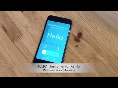 Hello Ringtone (Adele Tribute Instrumental Remix Ringtone) • Download For iPhone & Android