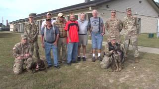 Veterans of the Army's First Dog Handling Platoon Reunite at Fort Benning