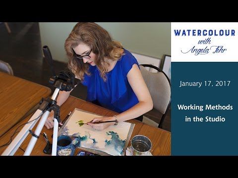 January 17th Live Lesson: Working Methods for Watercolour