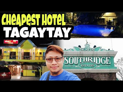 Cheapest Hotel In Tagaytay City