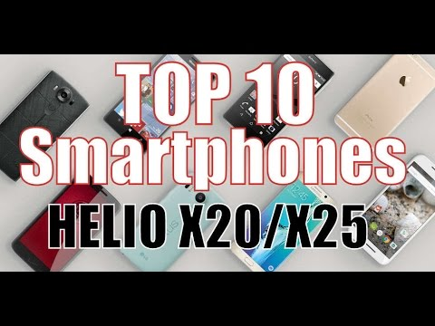 TOP 10 Smartphones with HELIO X20/X25 CPU/chipset/budget/chinese/list/cheapest/best buy/2016/2017