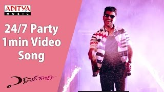 24/7 Party 1min Video Song || Express Raja Video Songs  || Sharwanand || Surabhi
