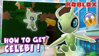 HOW TO CATCH CELEBI In Pokemon Brick Bronze! (Roblox)