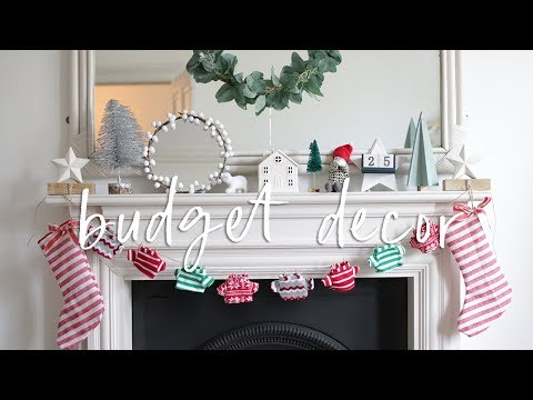 DIY Budget Christmas Decorations from Poundland | DIY Christmas Decor Hacks 2018