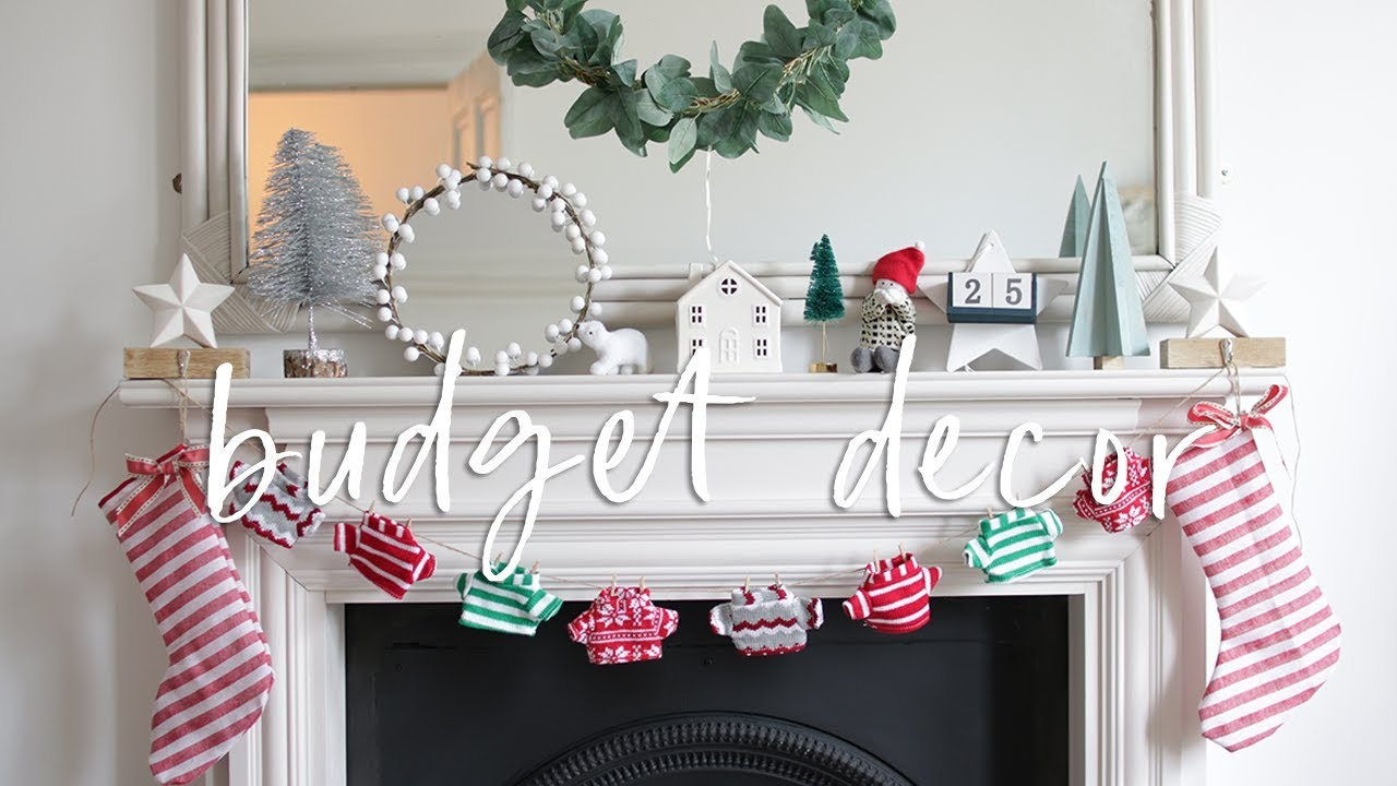 DIY Budget Christmas Decorations From Poundland