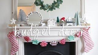 DIY Budget Christmas Decorations from Poundland | DIY Christmas Decor Hacks 2018