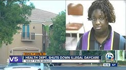 Illegal daycare in West Palm Beach community shut down by health department