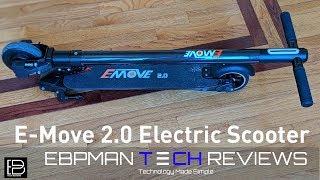 e move 20 carbon fiber electric scooter review