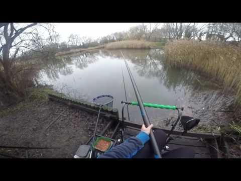 Pescuit la pluta in Ianuarie 2017