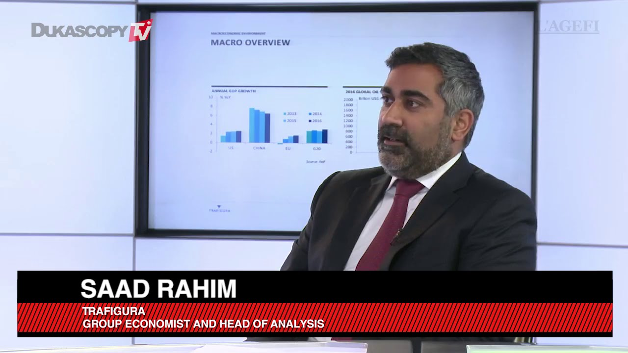 Interview with Saad Rahim, Trafigura's Chief Economist