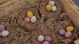 HOW TO MAKE: CHOCOLATE EASTER NESTS Thumbnail