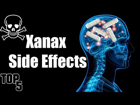 Top 5 Xanax Scary Side Effects