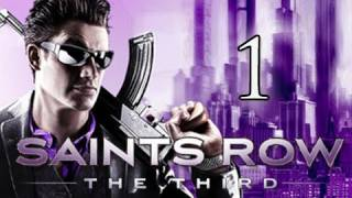 Saints Row 3 the Third Walkthrough - Part 1 Intro - When Good Heists Go Bad Let