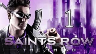 Saints Row 3 The Third Walkthrough Part 1 Intro When Good Heists Go Bad Let S Play