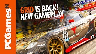 GRID is back! New racing game footage