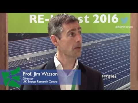 ‪Prof. Jim Watson, 7. St.Gallen Forum for Management of Renewable Energies‪‬ #REMforum