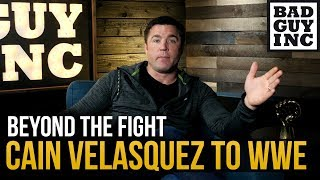 Will pro wrestling fans embrace Cain Velasquez?