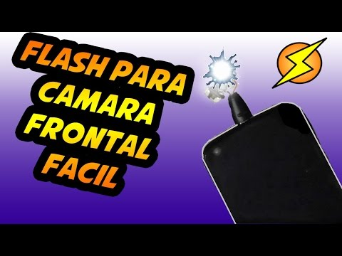 Como hacer un FLASH frontal para tu movil-camara-selfie-Exp Locos
