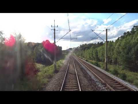 Жепин - Познань Главная, весь маршрут / Rzepin - Poznań Główny, cała trasa