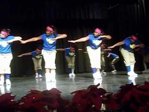 Apopka Middle School step team performance at APK  (Alpha Mu Sigma) 2012