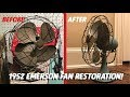 1952 Emerson Electric Fan Restoration!