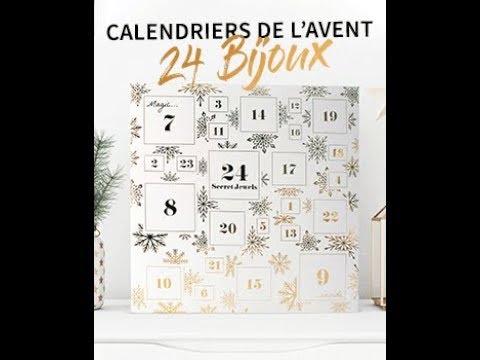 24 Bijoux Calendrier de lavent 2019 Blanc