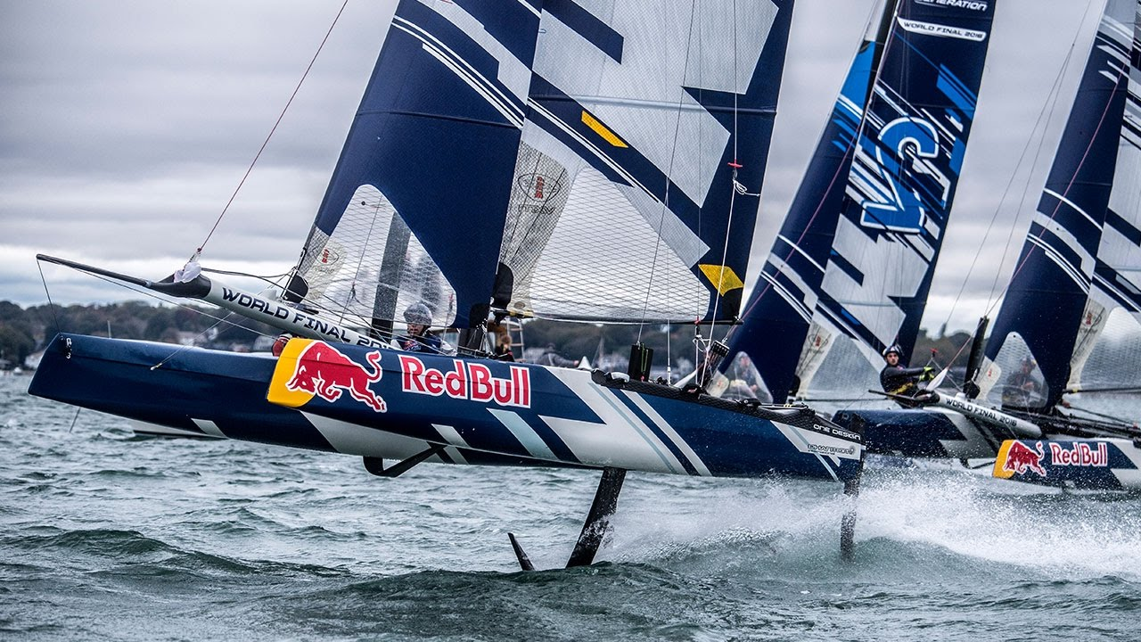 High Speed Hydrofoil Racing: Red Bull Foiling Generation World Finals -  YouTube