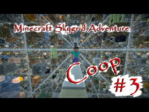 """Смотреть прохождение игры Minecraft Skygrid - Серия 3: """"Голем и генератор камня..."""""""