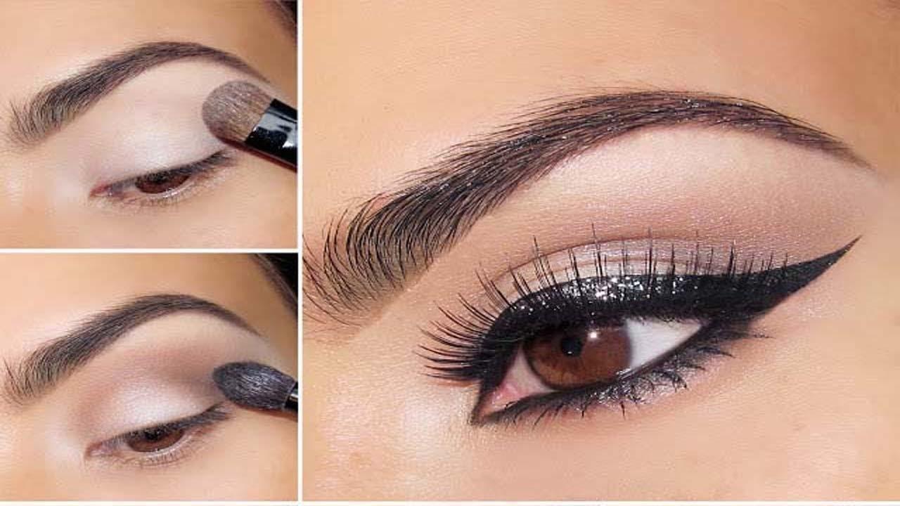 0b17e9636b7e6 مكياج للعيون أسهل طريقة لوضع مكياج للعيون 2017 - YouTube