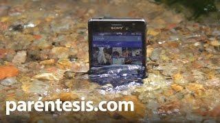Sony Xperia M4 Aqua bajo el agua, review en español