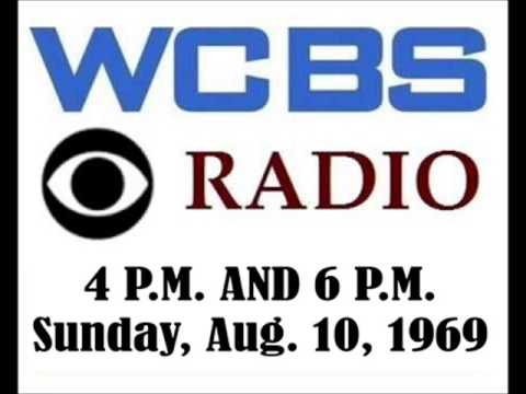 CBS RADIO NEWS FROM WCBS, SUNDAY, AUG  10, 1969