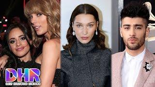 Camila Cabello RESPONDS to Taylor Swift Rumors - Bella Hadid SHADES Zayn?! (DHR)