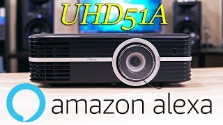 Optoma UHD50/UHD51A Review - The Best 4K Projector of 2018?