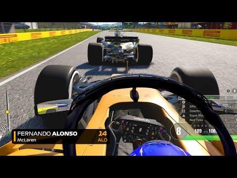 LAST TO ? CHALLENGE - Fernando Alonso 2018 F1 Spanish GP Challenge