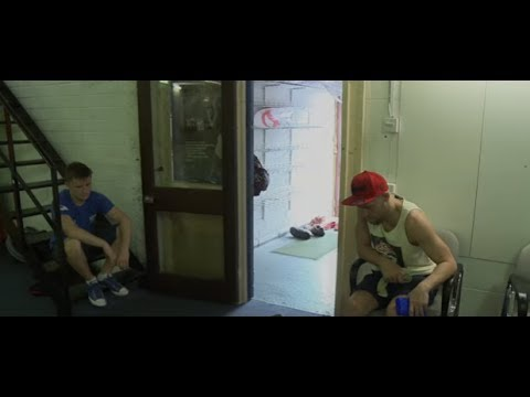 """Unseen footage: Conor McGregor tells a young James Gallagher success will come """"soon enough"""""""