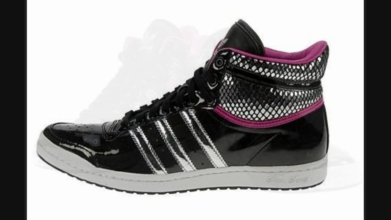 new product 2097a c4c54 Adidas Originals Top Ten Hi Sleek Shoes