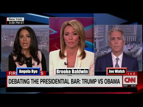 "Leftist Angela Rye to CNN's Brooke Baldwin ""Joe (Walsh) is a Bigot"""