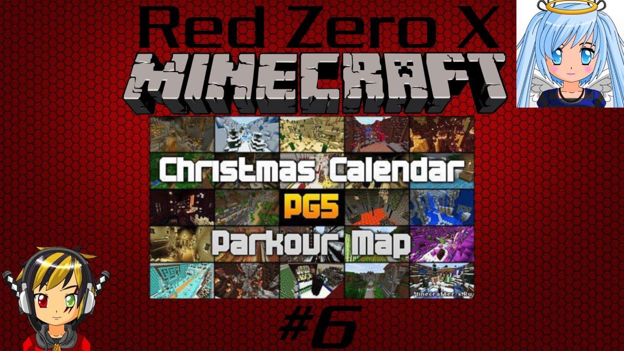 Christmas Calendar Minecraft : Red zero minecraft christmas calendar she s