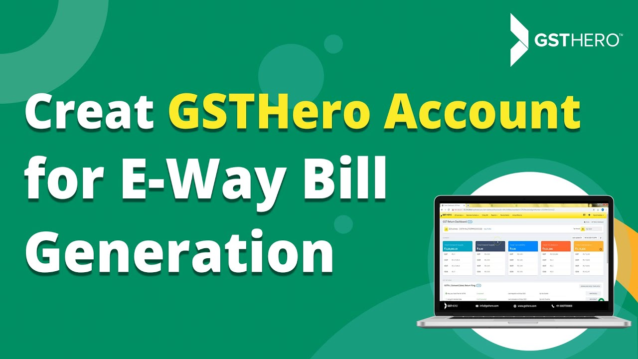 Generate Bulk E-Way Bills Using GSTHero's Tally ERP 9 Connector