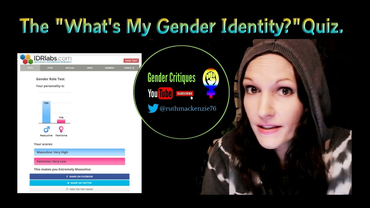 Identity quizzes gender The S.A.G.E.