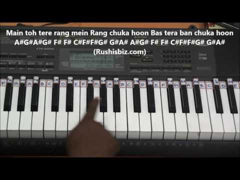 Sab Tera...... (Piano Tutorials) - Baaghi Movie | 7013658813 - PDF NOTES/BOOK - WHATS APP US