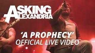Обложка Asking Alexandria A Prophecy Official HD Live Video