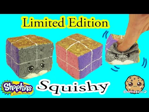 DIY Squishy Shopkins Season 5 Limited Edition Inspired Craft Do It Yourself - CookieSwirlC Video